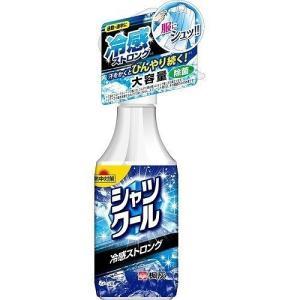 小林製薬 熱中対策 シャツクール 冷感ストロング 大容量サイズ 280mL (冷却スプレー)|viqol