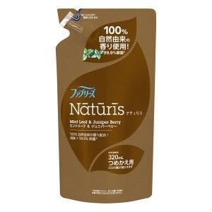 P&G ファブリーズ ナチュリス ミントリーフ&ジュニパーベリーの香り つめかえ用レフィル 320mL (除菌・消臭スプレー) viqol