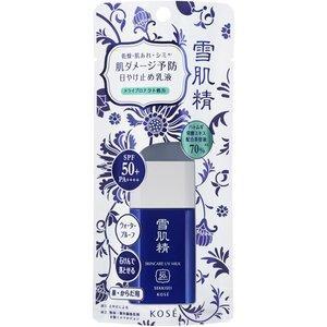 コーセー 雪肌精 スキンケア UV ミルク ミニサイズ SPF50+/PA++++ 25g (日焼け止め・UVケア)|viqol