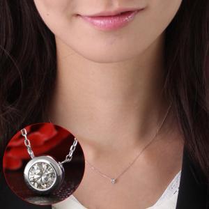 送料無料 天然ダイヤモンド0.10ct 高品質SIクラス 1粒ペンダント・ネックレス K18WGホワイトゴールド 鑑別書付き 天然ダイヤモンド レディース|virgindiamond