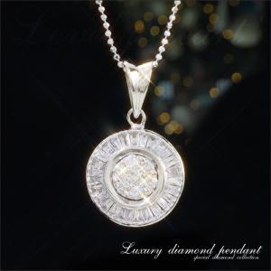送料無料 在庫限り Diamond collection K18WG 計0.33ctダイヤモンドネックレス PI09-682 天然ダイヤモンド レディース|virgindiamond