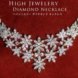 ダイヤモンド ネックレス レディース ホワイトゴールド K18|virgindiamond