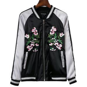 レディース スカジャン 横須賀ジャンパー 桜刺繍