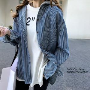 シャツ レディース おしゃれ 大人 夏 羽織り パーカー 40代 50代 s1263|visage-souriant1208