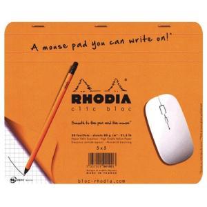 ロディア/RHODIA クリックブロック マウスパッド|visavis