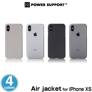 Air jacket for iPhone XS  抜群の装着感を提供 特殊マイクロドット加工|visavis