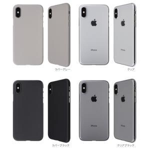 Air jacket for iPhone XS  抜群の装着感を提供 特殊マイクロドット加工|visavis|02