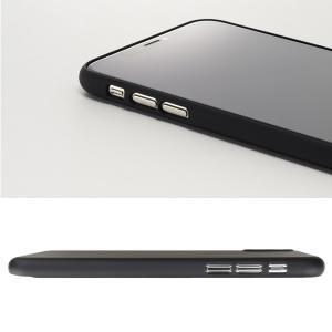 Air jacket for iPhone XS  抜群の装着感を提供 特殊マイクロドット加工|visavis|05