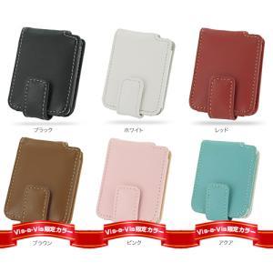 PDAIR レザーケース for iPod nano(3rd Gen) 縦開きタイプ|visavis