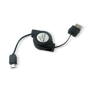 リトラクタブル USBケーブル(Micro-USB Bタイプ) /代引き不可/|visavis