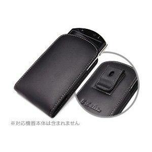 PDAIR レザーケース for PSP go ベルトクリップ付バーティカルポーチタイプ|visavis