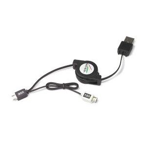 リトラクタブルケーブル・デュアル(Micro-USB Bタイプ) /代引き不可/|visavis