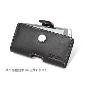 スマホケース PDAIR レザーケース for Xperia(TM) arc SO-01C ポーチタイプ|visavis