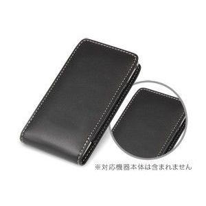 スマホケース PDAIR レザーケース for Xperia(TM) arc SO-01C バーティカルポーチタイプ|visavis