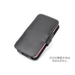 PDAIR レザーケース for P-07C/Sweety SoftBank 003P 横開きタイプ|visavis