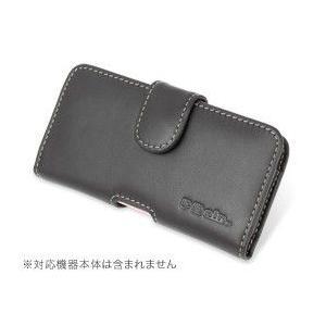 PDAIR レザーケース for P-07C/Sweety SoftBank 003P ポーチタイプ|visavis