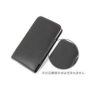 PDAIR レザーケース for P-07C/Sweety SoftBank 003P バーティカルポーチタイプ|visavis