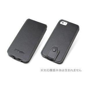 PDAIR レザーケース for iPhone SE / 5s / 5 縦開きトップタイプ(ボタンタイプ)|visavis