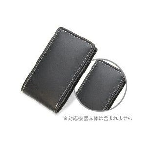 PDAIR レザーケース for iPod nano(7th gen.) バーティカルポーチタイプ|visavis