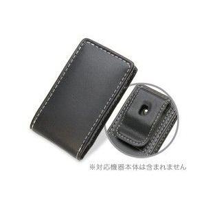 PDAIR レザーケース for iPod nano(7th gen.) ベルトクリップ付バーティカルポーチタイプ|visavis