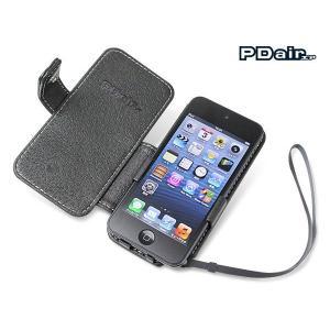 PDAIR レザーケース for iPod touch(5th gen.) 横開きタイプ|visavis