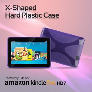 Xシェイプ ソフトプラスチックケース for Kindle Fire HD