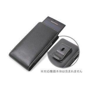 スマホケース PDAIR レザーケース for Xperia(TM) acro SO-02C/IS11S ベルトクリップ付バーティカルポーチタイプ アウトレット品|visavis