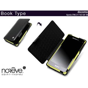 スマホケース Noreve Exceptional Couture Selection レザーケース for Xperia (TM) Z1 f SO-02F 卓上ホルダ対応|visavis|04