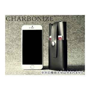 【送料無料】Charbonize レザー ウォレットタイプケース for iPhone 6 Plus(ブラック)プラス(5.5インチ)|visavis