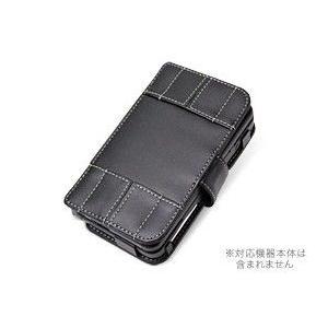 PDAIR レザーケース for Newニンテンドー3DS 横開きタイプ|visavis