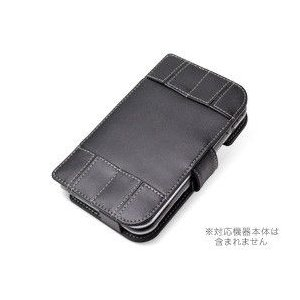 PDAIR レザーケース for Newニンテンドー3DS LL 横開きタイプ