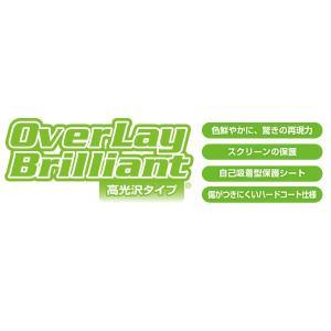 OverLay Brilliant for GARMIN Foretrex 401/301(2枚組) /代引き不可/ 液晶 保護 フィルム ガーミン サイクルコンピューター GPS 高光沢|visavis|02