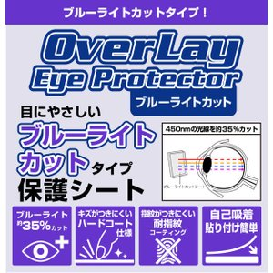 ポメラ DM200 用 OverLay Eye Protector for ポメラ DM200 /代引き不可/ 送料無料 液晶 保護 フィルム シート シール ブルーライト カット|visavis|02