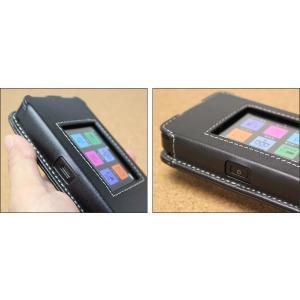 603HW / 601HW 用  PDAIR レザーケース for Pocket WiFi 603HW / 601HW スリーブタイプ 【送料無料】高級 本革 本皮 ケース|visavis|03