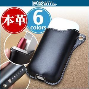IQOS 2.4 / 2.4 Plus 用  PDAIR レザーケース for IQOS 2.4 / 2.4 Plus スリーブタイプ高級 本革 本皮 ケース|visavis