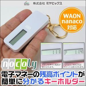 nocoly key holder ノコリーキーホルダー 電子マネー 残高 小さなキーホルダー型 visavis