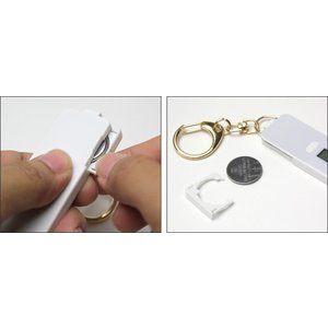 nocoly key holder ノコリーキーホルダー 電子マネー 残高 小さなキーホルダー型 visavis 04