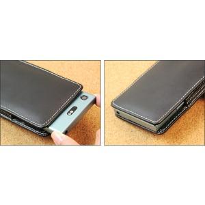スマホケース Xperia XZ1 Compact SO-02K 用 PDAIR レザーケース for Xperia XZ1 Compact SO-02K バーティカルポーチタイプ 【送料無料】 ポーチ型 高級|visavis|03
