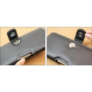 AQUOS R2 SH-03K / SHV42 用 PDAIR レザーケース ポーチタイプ 【送料無料】 ポーチ型 高級 本革 本皮 ケース レザー ベルトクリップ付き|visavis|04