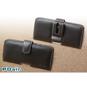 AQUOS R2 SH-03K / SHV42 用 PDAIR レザーケース ポーチタイプ 【送料無料】 ポーチ型 高級 本革 本皮 ケース レザー ベルトクリップ付き|visavis|05
