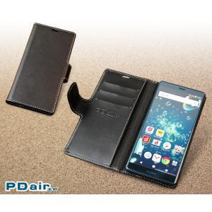 Xperia XZ2 SO-03K / SOV37 用 PDAIR レザーケース 横開きタイプ 【送料無料】 手帳型 ケース エクスペリア エックスゼット2 visavis 06