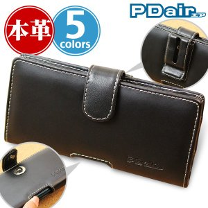 Xperia XZ2 SO-03K SOV37 用 PDAIR レザーケース ポーチタイプ ポーチ型 高級 エクスペリア エックスゼット2の商品画像 ナビ