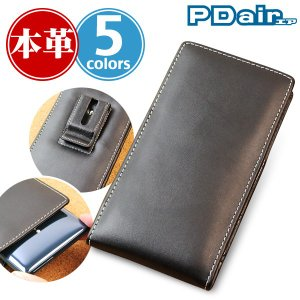 Xperia XZ2 SO-03K / SOV37 用 PDAIR レザーケース ベルトクリップ付バーティカルポーチタイプ 【送料無料】 ポーチ型 エクスペリア エックスゼット2|visavis