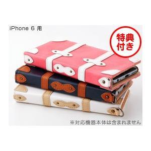 スマホケース iPhone 6 用  Sinra Design Works Trolley Case for iPhone 6 トローリーケース 手帳型 ICカード カバー ジャケット|visavis