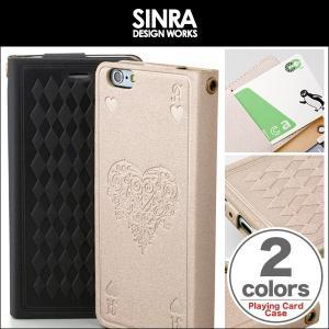 iPhone 6s/6 用 Sinra Design Works Playing Card Case for iPhone 6s/6 手帳型ケース 手帳 カバー   iPhone 6 iPhone6 アイフォン6 アイフォン6 アイフォン6|visavis