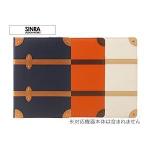 iPad Air 2 用 Sinra Design Works Trolley Case for iPad Air 2 手帳型 ダイアリー 横型 横開き ケース 旅行カバン カバー ジャケット 折りたたみ|visavis