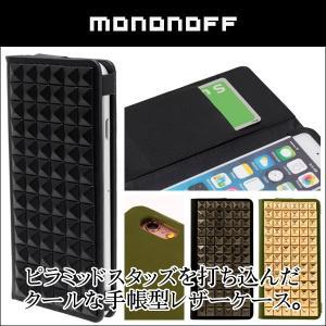 iPhone 6s/6 用 mononoff 601 Pyramid Case for iPhone 6s/6 手帳型ケース 手帳 カバー   iPhone 6 iPhone6 アイフォン6 アイフォン6 アイフォン6 visavis