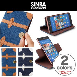 Sinra Design Works Trolley Case Denim for 5inch Smartphone /代引き不可/ iPhone6 iPhone 6 アイフォン6|visavis