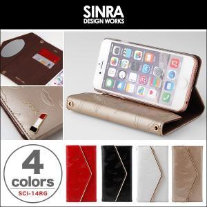iPhone 6s/6 用 Sinra Design Works Rouge Case for iPhone 6s/6 手帳型ケース 手帳 カバー   iPhone 6 iPhone6 アイフォン6 アイフォン6 アイフォン6|visavis