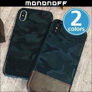 iPhone X 用  mononoff Military Single for iPhone X 迷彩柄 シングルタイプ|visavis